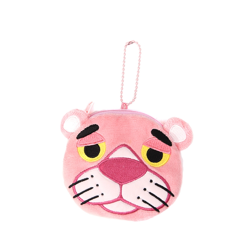 New Arrive Lovely Mini Girl Handbag With Strap Animal Design Coin Purse Plush Toys Pendant