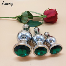 AUEXY Sextoy Big Butt Plug Set Large Bolas Anales Metal Analplug Stainless Steel Buttplug Tapon Anal Sex Toys for Woman Men Gay