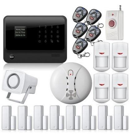 Freeship WiFi GSM GPRS SMS Ev Ev Hırsız Güvenlik Yangın Alarm - Güvenlik ve Koruma - Fotoğraf 2
