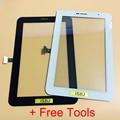 Qualidade superior uso tela sensível ao toque com digitador para samsung galaxy tab 2 7.0 P3100 Tab2 GT-P3100 Tablet Reparação SEM DISPLAY LCD + ferramenta