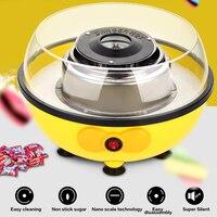 Mini bee cotton candy machine yellow mini household cotton candy machine home European standard 220V