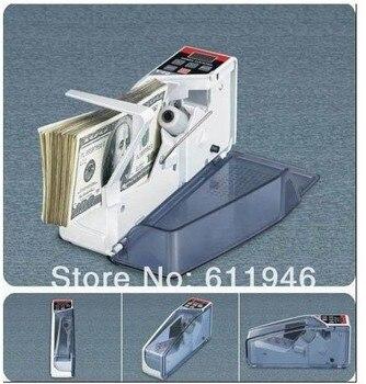 Máquina Contadora De Efectivo | 1PC Mini Portátil Caja De Dinero Caja Registradora Mostrador De Moneda Pantalla Digital Máquina De Conteo De Dinero En Efectivo
