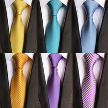 Фотография CityRaider Brand Gravata 2018 New Solid Ties For Men Neck Tie Slik Mens Neckties Bridegroom Wedding Necktie Slim Cravate A007