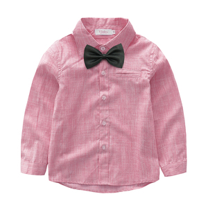 Image 2 - Yilaku Baby Boys Clothing Sets Gentleman Outfits Toddler Boy Tuxedo Suits Bow Tie Shirts + Suspender Pants FF461