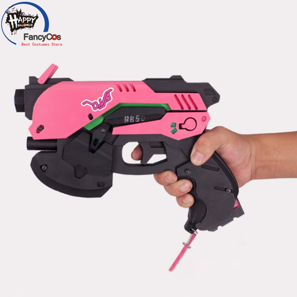 Halloween Game Overwatch Ow Dva D.va Headset Gun Pistol Earphone Game Cosplay Props Costume Gifts High Quality Costume Props