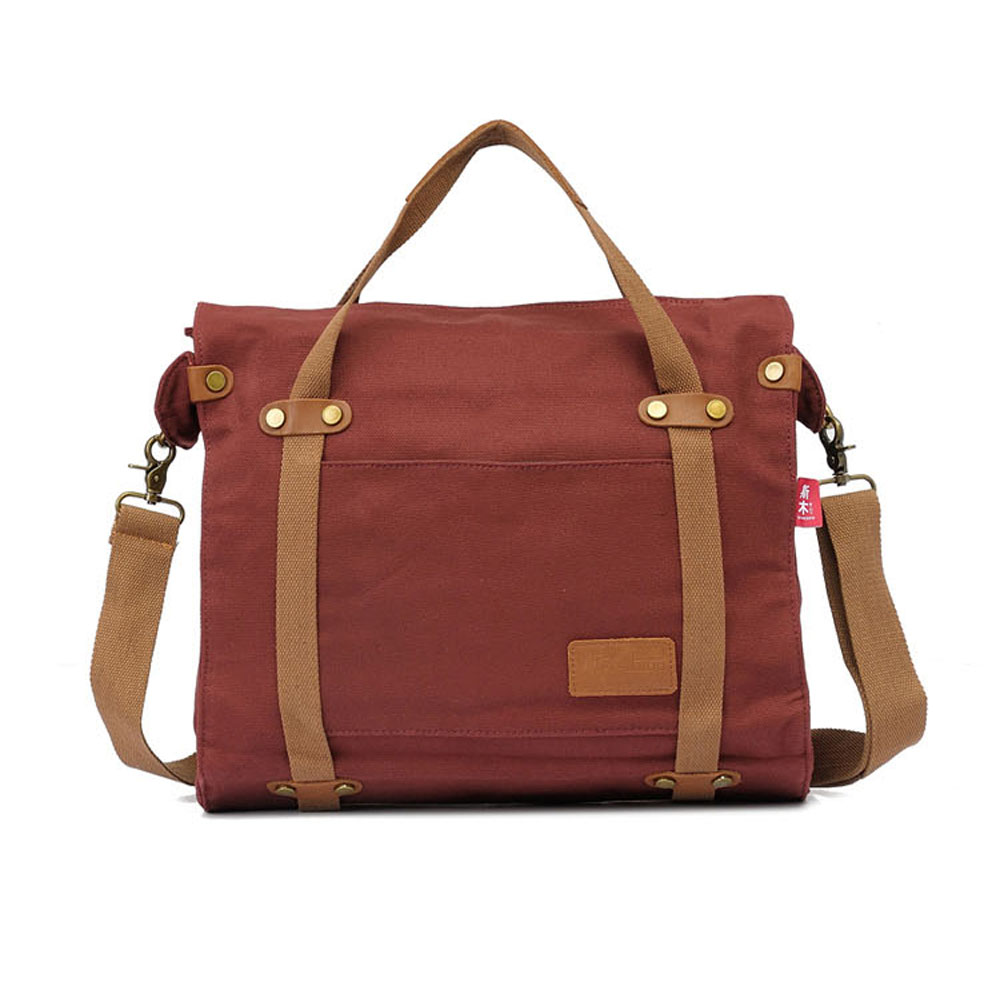 ФОТО High Quality Canvas Unisex Men Casual Practical Messenger Bags Women Retro Travel Handbags for Computer Laptop Bags