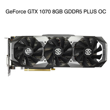 GeForce GTX 1070 8GB GDDR5 PLUS OC Game Independent Graphics Card 8008MHz 256bit GTX1070-8GD5 Brand New Graphics Card for ZOTAC