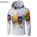 2016 Hoodies Men Hombre Hip Hop Male Brand Hoodie Fashion 3d Print Sweatshirt Suit Hoody Men Slim Fit Long Sleeve Mens Hooded