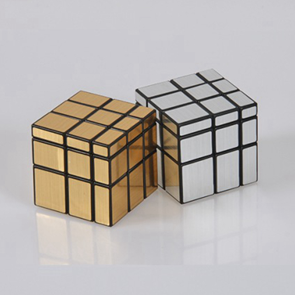 ShengShou SS 57mm Mirror Blocks Cast Coated 3x3x3 Magic Cube Speed Puzzle Cubes Birthday Gift Educational Toys For Children Kids