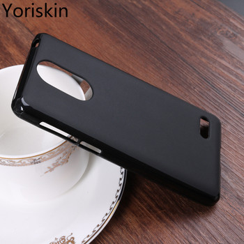 New Silicone Matte Soft Back Cover For BQ 5022 Bond With Anti-Scratch Protection Phone Case For BQ 5022 Bond TPU Case/Black