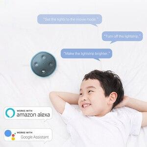 Image 4 - Yeelight אורורה חכם אור רצועת בתוספת YLDD04YL 2m LED RGB WiFi חכם בית תפאורה אור עבודה עם Alexa Google עוזר Mi הבית