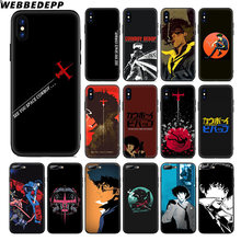 WEBBEDEPP Cowboy Bebop Anime Soft Silicone Case voor Apple iPhone 11 Pro Xr Xs Max X of 10 8 7 6 6S Plus 5 5S SE TPU(China)