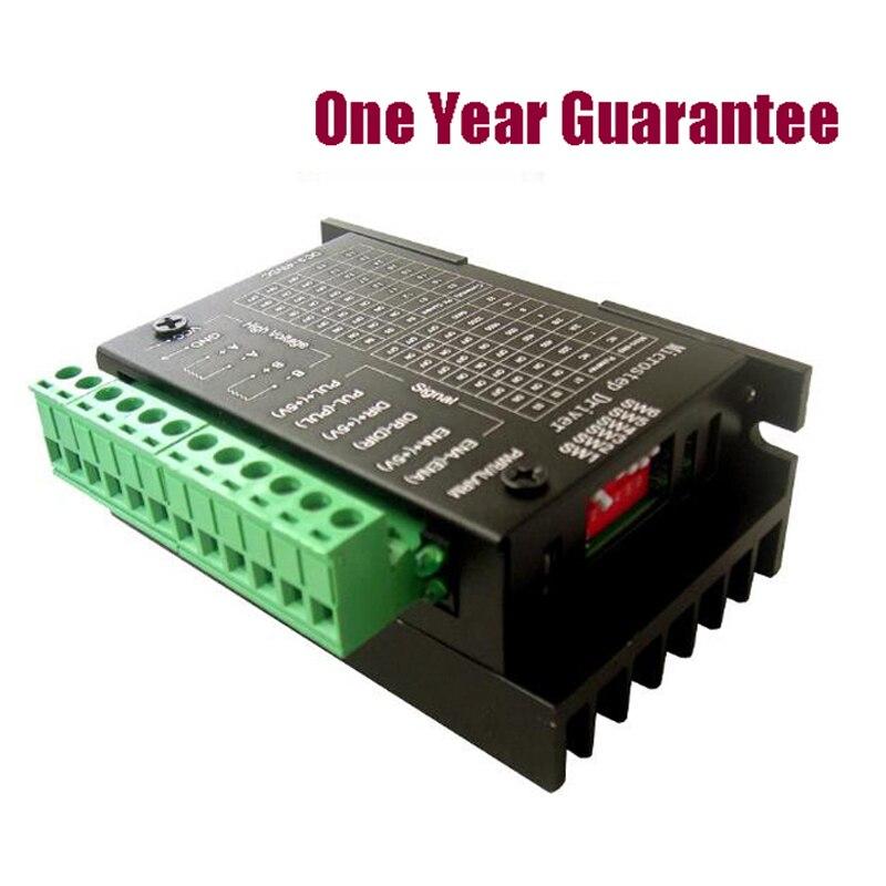 50 unids/lote TB6600 4A controlador de Motor paso a paso 9 ~ 42 V TTL 16 Micro-paso CNC 1 eje nueva versión mejorada de la 42/57/86 paso a paso Motor D