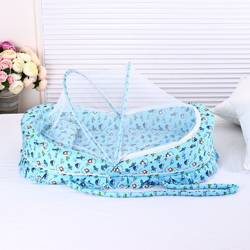0-24 Months Baby bed with mosquito net portable baby crib game cotton folding bed with cover portable baby cot baby crib0-24 Months Baby bed with mosquito net portable baby crib game cotton folding bed with cover portable baby cot baby crib