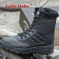 Laite Геба Delta Тактические Мужчины Сапоги Американский SWAT Combat Зима Пустыни Предотвращения Столкновений Обувь Военные Сапоги Мужские Кроссовки Size39-44