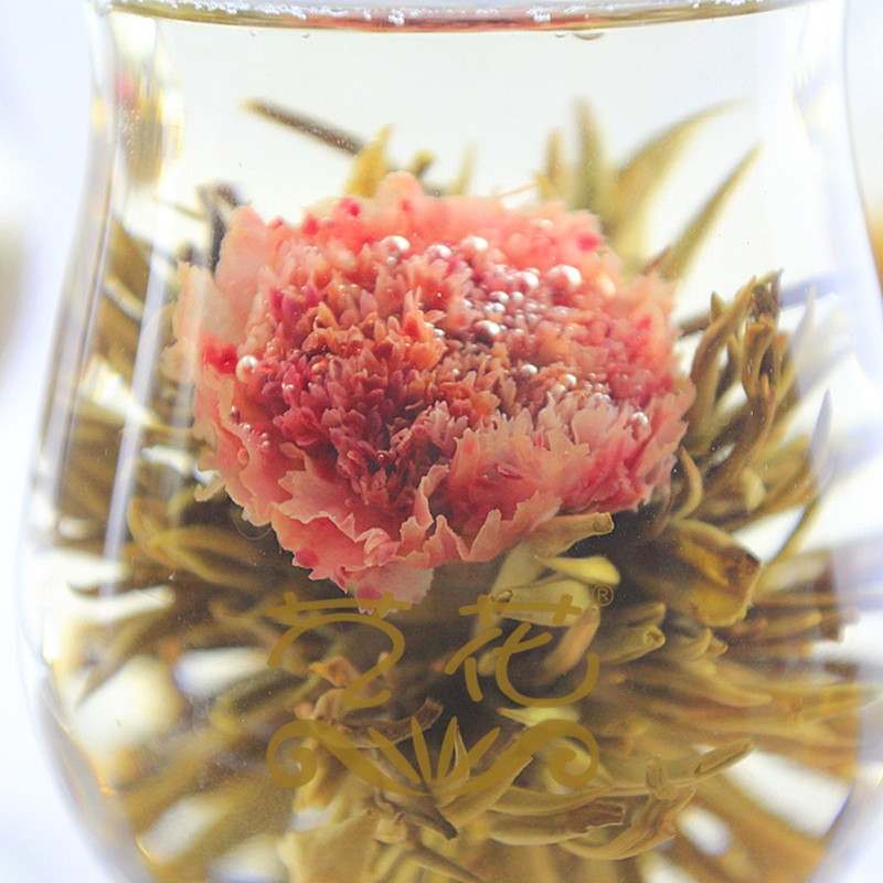 20pcs Individual Vacuum package Carnation and Tea Buds Blooming tea Artistic Blossom Flower Tea Hand made