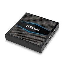 New H96mini Android 7.1 TV Box Amlogic S905W Quad Core 2GB 16GB WiFi BT 4.0 2.4G/5G Media Player Set-top Box PK X96