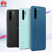 Originele Huawei P30 Pro Case Silicone Cover 360 Leuke Shockproof Officiële P 30 Luxe Vloeibare Soft Silicon P30 Pro cover Case