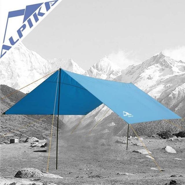 Tarp 4MX4M outdoor requipment canopy tent tarpaulin voicer trap tent c&ing & Tarp 4MX4M outdoor requipment canopy tent tarpaulin voicer ...