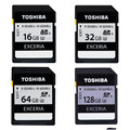 Toshiba 95 МБ/с. 16 ГБ 32 ГБ Sdhc UHS U3 Класс 10 SD Карты 64 ГБ SDXC Карты Памяти Flash Для Canon Nikon ЗЕРКАЛЬНЫЕ ФОТОКАМЕРЫ Видеокамеры DV