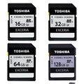 Toshiba 95MB/s 16GB 32GB SDHC Card UHS U3 Class 10 SD Card 64GB SDXC Flash Memory Card For Canon Nikon SLR Camera Camcorder DV