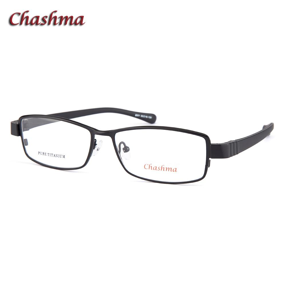 Prescription Glasses Titanium Men Super Quality Ultra Light Sport Style Myopia Glasses Width 138