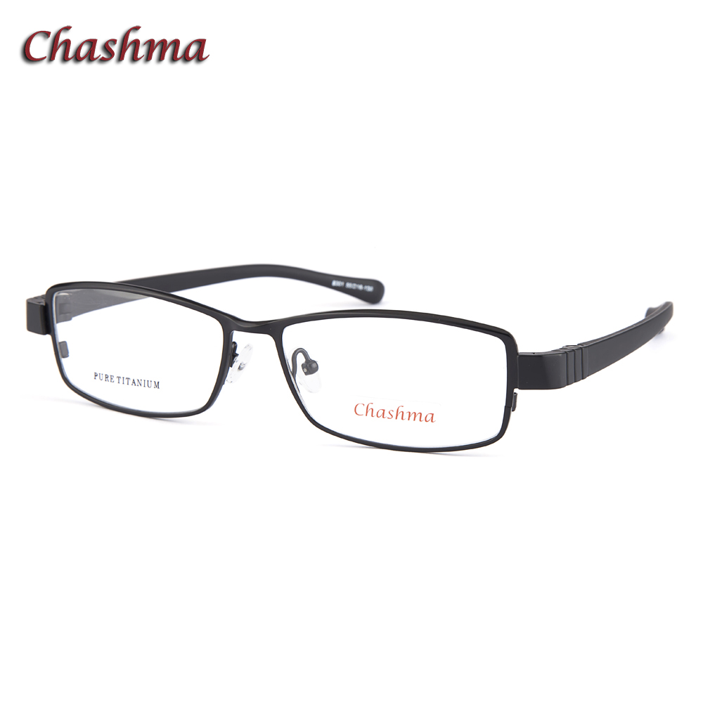 Prescription Glasses Titanium Men Super Quality Ultra Light Sport Style Myopia Width 138