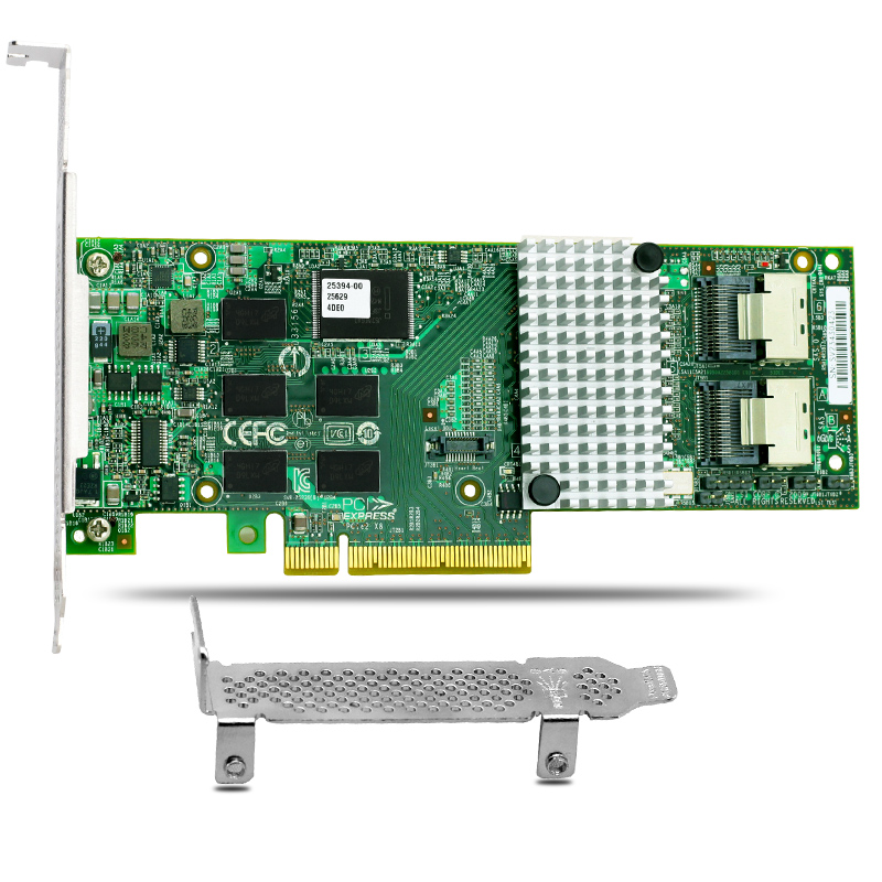 MegaRAID 9261-8i PCI-E 2.0 8-port 6Gb/s SATA SAS RAID Controller Card 512M Cache 375 3536 sas raid with battery array card pci e sas card 100% test good quality