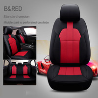 custom cowhide Leather car seat cover for auto Morris Garages MG7 MG3 SW MG5 MG3 MG GS GT ZS MG6 HS car accessories car styling