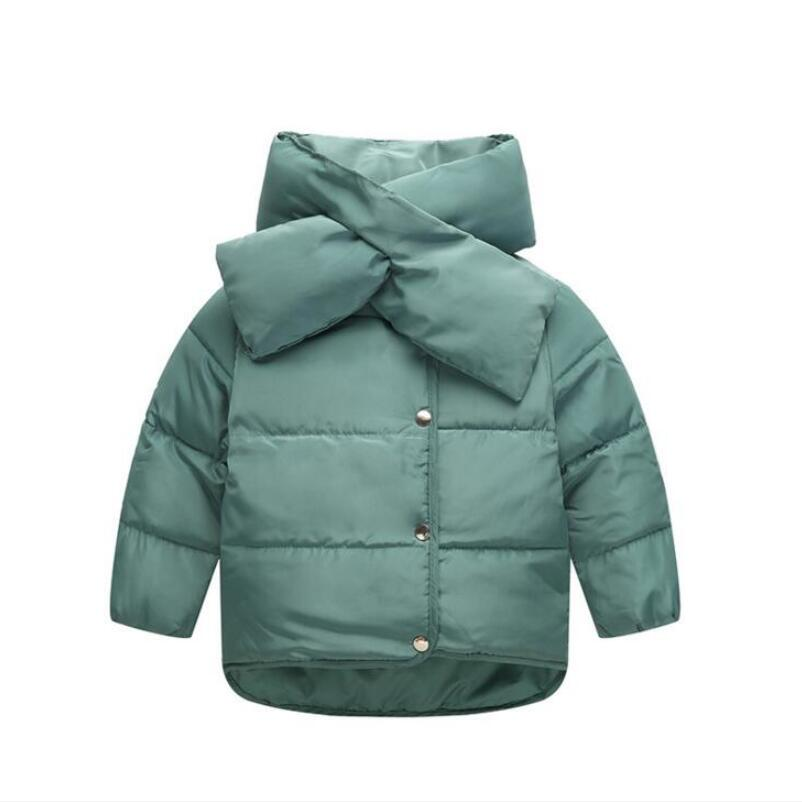 2016 autumn winter Children Down Parkas font b boys b font girls down cotton font b