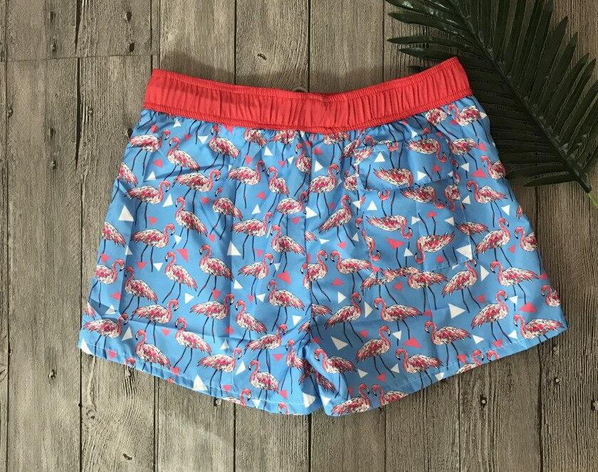 Pantaloncini Da Bagno Ragazzo : Funfeliz swiming trunks per gli uomini flamingo ragazzo