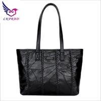 Lkprbd 2018 New Leather Shoulder Lady Selling Brand Large Tote Bag Handbag Design High Fashion Charm