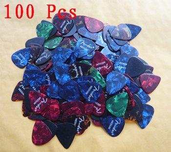 Lots of 200 pcs new medium 0.71 mm guitar picks