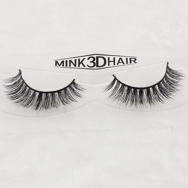 Top Sale Natural False Eyelashes 3d Mink Lashes Volume Soft Lashes