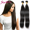 indian virgin hair straight 3pcs/lot 7A indian straight human hair weave ultra boost sew in hair extensions color 1b 12-26 inch