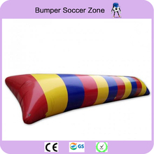 Free Shipping 8 3m 0 9mm PVC Water Jumping Pillow Inflatable Water Trampoline Water Blob Water
