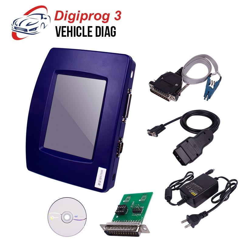 2019 bas prix Digiprog3 odomètre correction outil de réglage v4.94 Digipro 3 kilométrage réglage programmeur Digiprog III