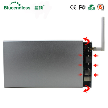 Fast Speed 5/6GBPS Reading capacity 4TB HDD 3.5 Hard Disk Enclosure Sata USB3.0  Wireless Wifi Extender Router ( Including HDD)