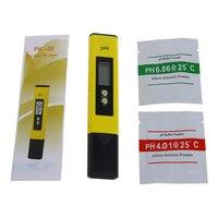 Auto Calibration Mini Digital Pocket Pen Type PH Meter Multimeter Tester Hydro