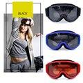 Лыжные очки солнцезащитные очки большая маска очки Анти-Туман UV400 против царапин