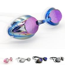 все цены на Professional Swimming Goggles Men Women Swim Goggles  Anti-Fog UV Protect Adjustable Waterproof Swimming Glasses Adult Eyewear онлайн