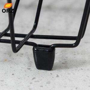 Image 5 - Orz袋水切り乾燥ラック金属キッチンシンクのためのプレートボウルカップ食器棚バスケット