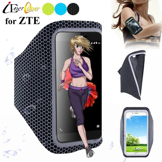 reputable site b0bcd 68145 US $4.99 |Running Ultra Light Arm Band Case for ZTE Blade Spark , V870 ,  Axon 7s , Avid 916 , ZMax Grand LTE Phone Touch Screen Pouch Bag-in Phone  ...