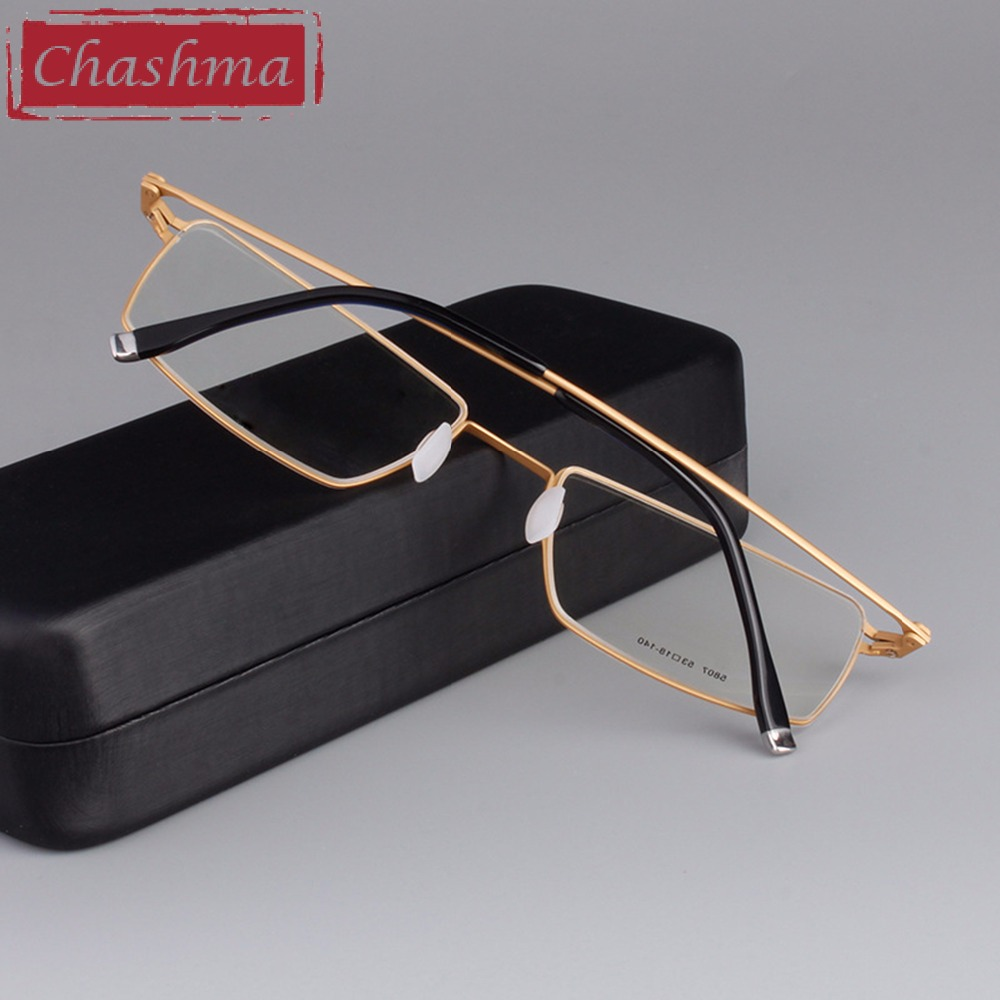 Chashma Brand Eye Glasses Men B Titanium Glasses Luxury Top Quality Frames Myopia Glasses Frame Light