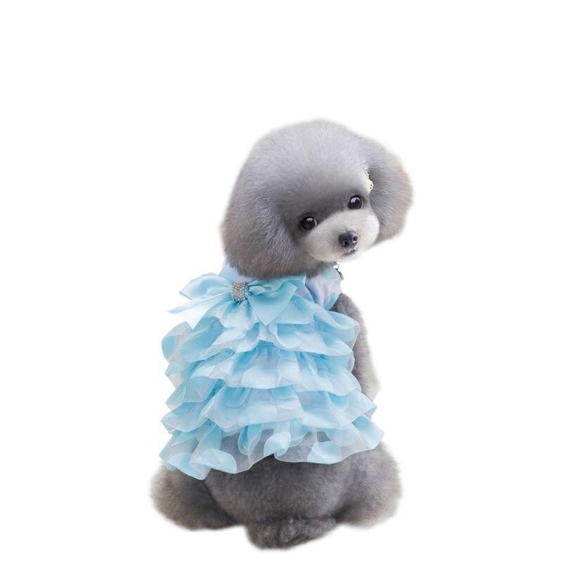 Spring Pet Summer Dog Supplies Costume Dog Dress Puppy Dog Clothes Dresses XS S M L XL