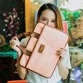 Mujeres bolsas de mensajero para loptop bolso 13.3 14 15.6 pulgadas bolso de la computadora portátil de negocios de Moda mujer bolsa de ordenador portátil femenino