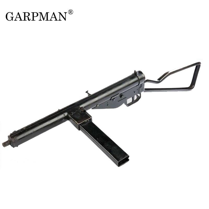 1:1 Sten Submachine Gun 3D Paper Model World War II British Plumber Can Be Held Prop Papercraft