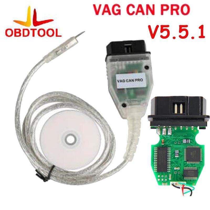 VAG PEUT PRO V5.5.1 OBD OBD2 De Diagnostic Câble pour CAN BUS + UDS + K-ligne Soutien VAG PRO s.W V5.5.1 avec Dongle