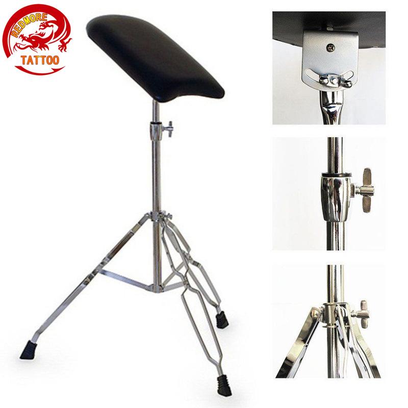 Steel Tattoo Arm Leg Hand Shelf Bracket Rest Stand Portable Adjustable Chair Tripod Holder For Tattooing Body Art цена 2016