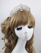 2015 бесплатная доставка кристалл hollow тиара Корейский горный хрусталь big crown свадебная тиара свадебные аксессуары для волос